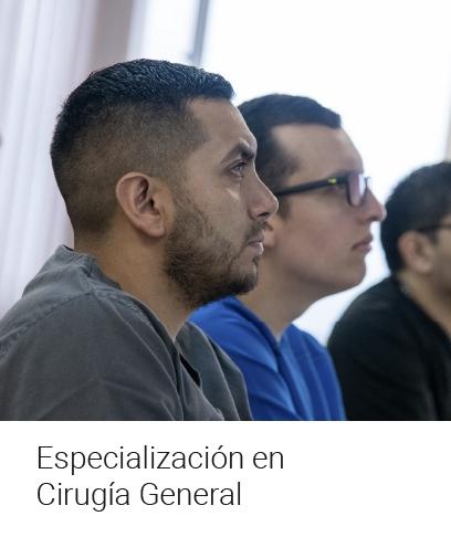 Especialización en Cirugía General