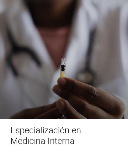 Especialización en Medicina Interna