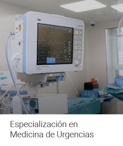 Especialización en Medicina de Urgencias