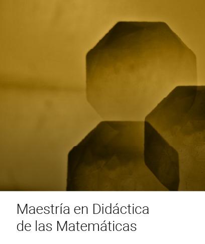 Maestría en Didáctica de la Matemática